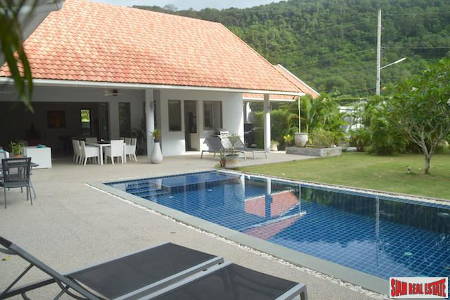 Luxury Pool Villa for Sale with Great Views of Big Buddha in Chalong