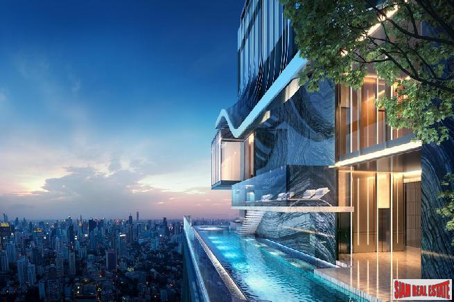 High Tech New Modern Two Bed and Duplex Condos in a Park Setting with the Best Facilities at the Heart of Thong Lor, Bangkok