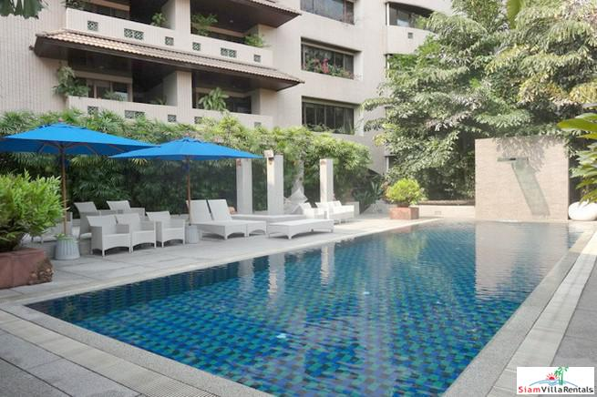 Raintree Village | Stylish Four Bedroom Top Floor Corner Duplex for Rent in Phrom Phong