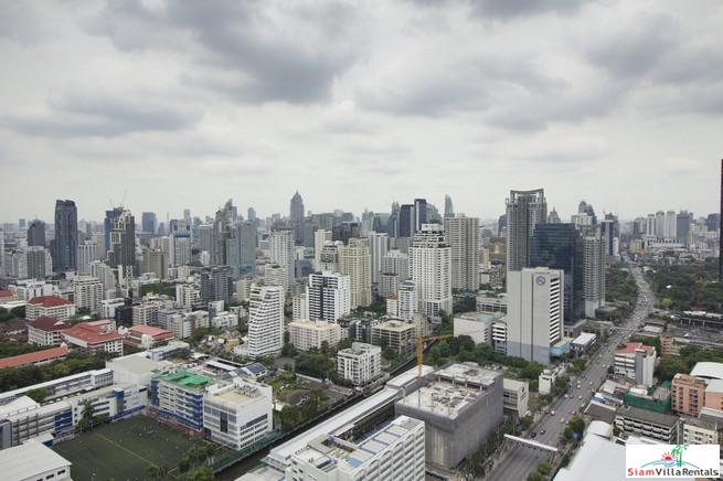 Outstanding City Views from this Two Bedroom on the  41st Floor in Phetchaburi
