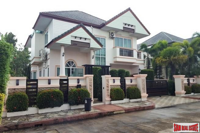 Amazing Two Storey House with Private Pool and French-Style Gardens in Huai Yai, Pattaya