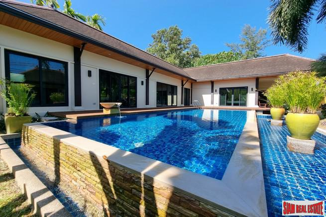 Two Villa Tara | Private Three Bedroom Villa with Large Pool in Layan