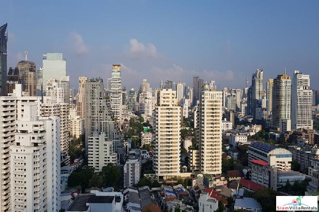 Fabulois 180° + View at this Large 281sqm Condo at Thong Lor, Sukhumvit 53