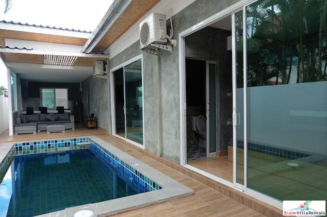 New Three Bedroom Villa with Lap Pool for Rent in Rawai