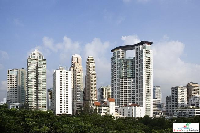 New Two Bedroom with City Views and Close to Lumphini Park in Chit Lom