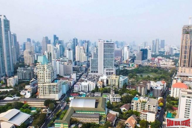 Exceptional Benchasiri Park Views from this Two Bedroom in Phrom Phong