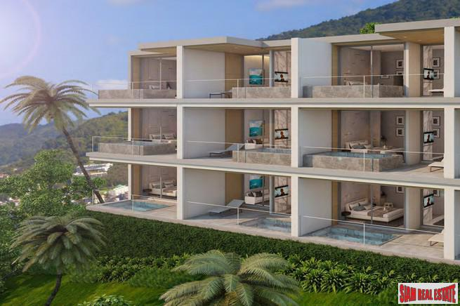 Sweeping Patong Bay Views from these New One Bedroom Condominiums