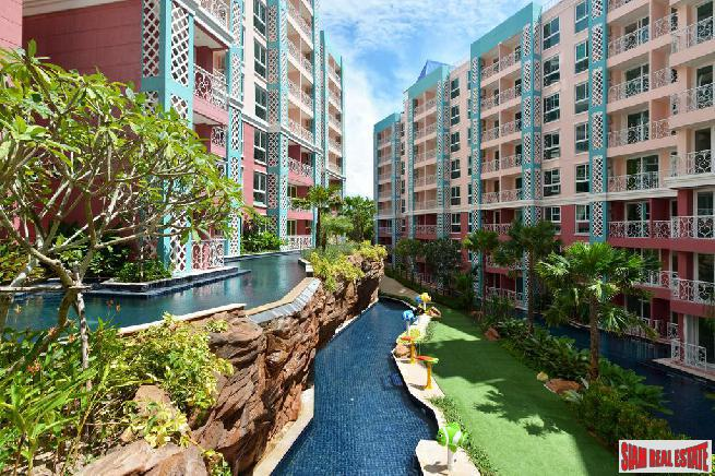 Spacious 1 bedroom 74 sq.m.Condo Resort Pattaya.
