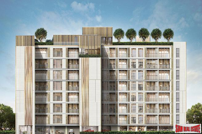 New Low-Rise Condo of Smart Homes at Wireless Road, next to BTS Ploenchit - Two Bed Units