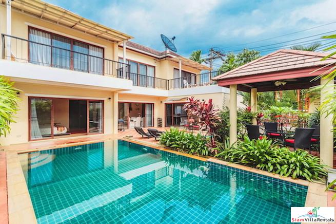 Three Bedroom Pool Villa with Private Yard and Sala in Thalang