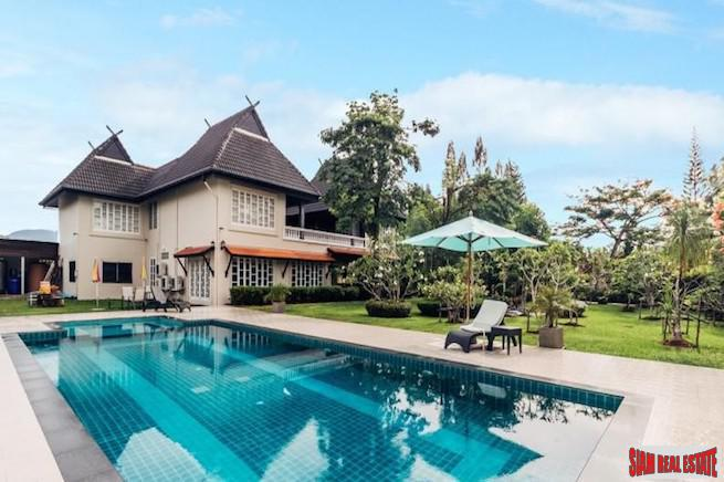 Luxurious and Private Thai-Lanna Style Pool Villa in Cherng Talay