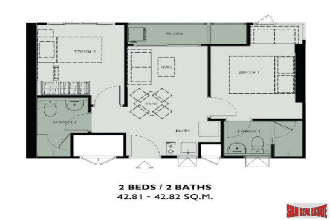 One Bedroom Condos in New 22