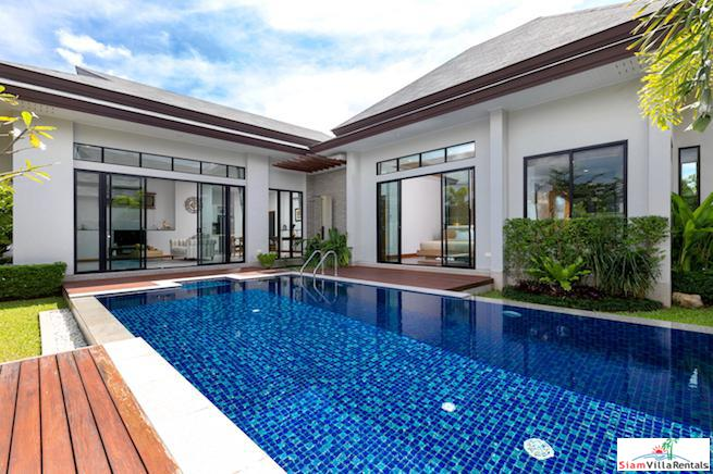 Elegant and Peaceful Three Bedroom Private Pool Villa in Layan