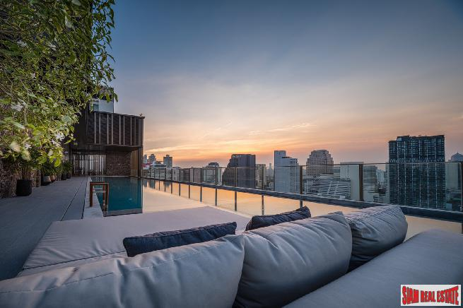 Newly Completed Luxury High-Rise Condo at Sukhumvit 33, Phrom Phong - 2 Bed Units - 50% Loan Available!