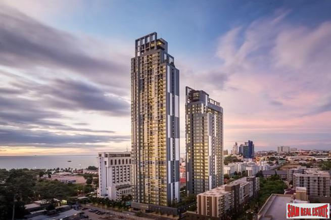 Sea Views from the 29th Floor of this Two Bedroom Condo in North Pattaya