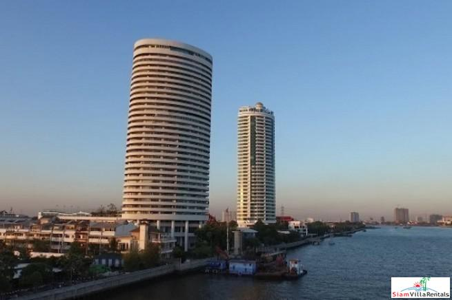 River Views from this Four Bedroom Condo Near the Chao Phraya River