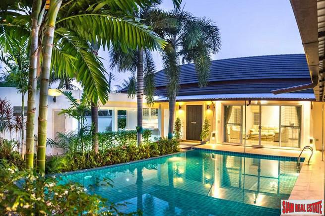Four Bedroom Beach Style Luxury Pool Villa in Nai Harn, Phuket