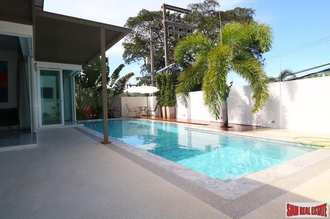 Beautiful New Three Bedroom Pool Villa on the Hillside of Kamala