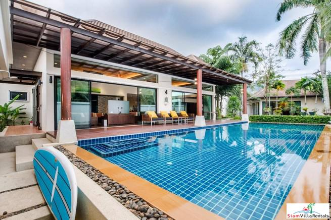 Beautiful Thai-Balinese Five Bedrooms Pool Villa for Rent in Kamala