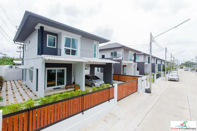 Two Storey, Three Bedroom House Near British International School in Koh Kaew
