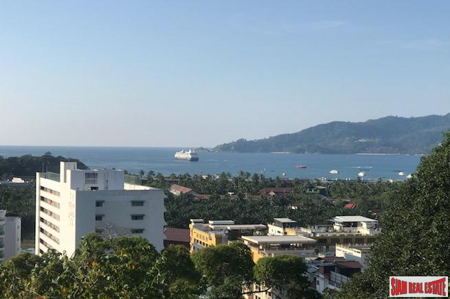 Diamond Condominium | Breathtaking Patong Bay Views from this Top Floor Three Bedroom Hillside Condo