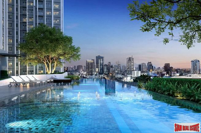 Interesting New High Rise Project Near BTS Bang Wa - One Bedroom Condos