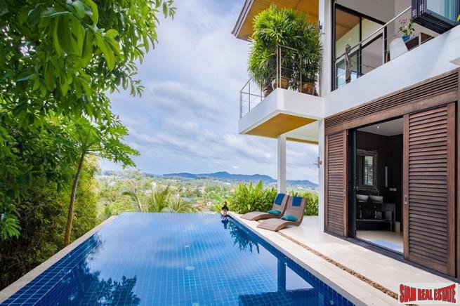Five  Bedroom Amazing Sea View Villa Overlooking Bang Tao Beach