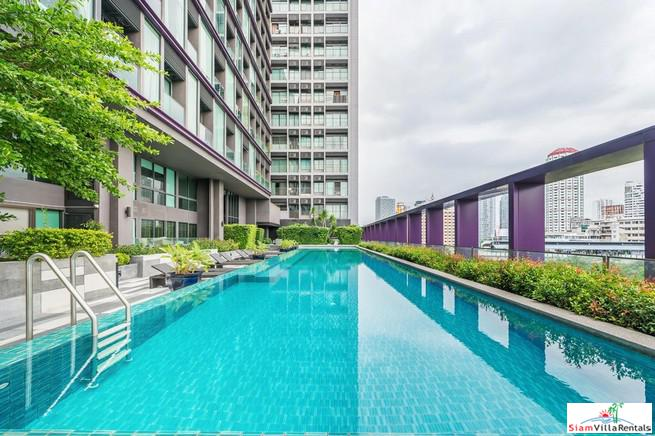 Large One Bedroom Condo with City Views and  Steps from BTS Thong Lor
