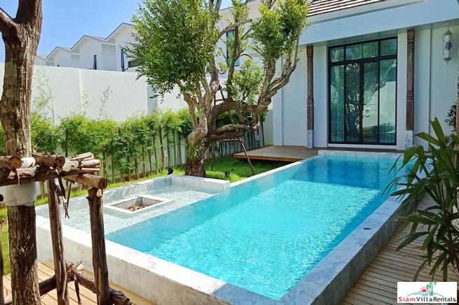 Newly Built Japanese Style Private Pool Villa in Chalong