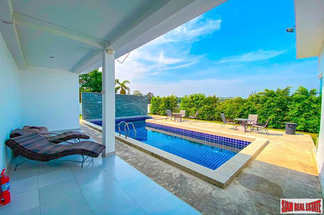 Brand new development 5 bedroom pool villa for rent - Na jomtien