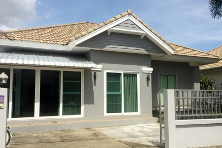 Three Bedroom Renovated and Expanded Single Storey House in Land & House, Chalong