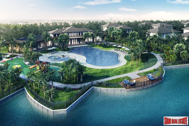 Smart Five Bedroom Lakeside  Detached Houses  in Samut Sakhon