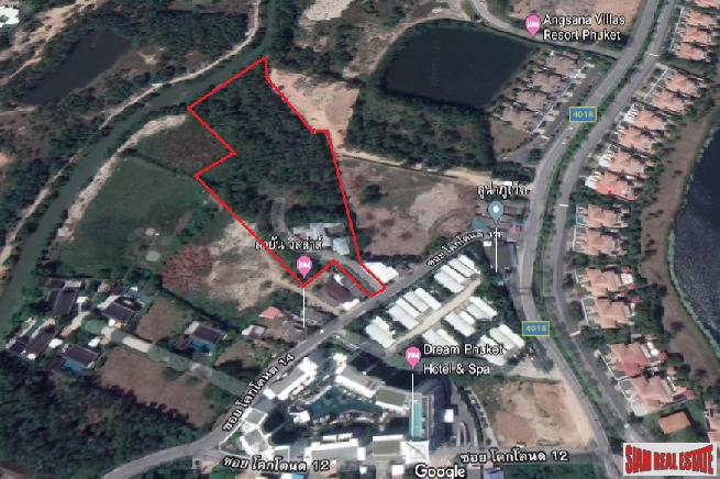 Exceptional Large Land Plot for Sale in Cherng Talay, Phuket