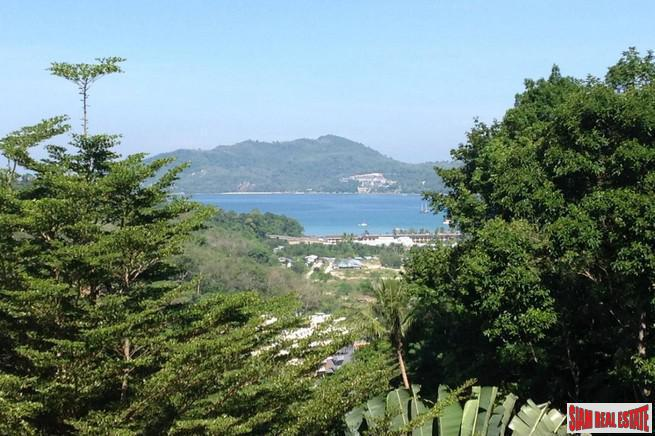 Sea View Land in Tropical Gated Estate, Patong, Phuket