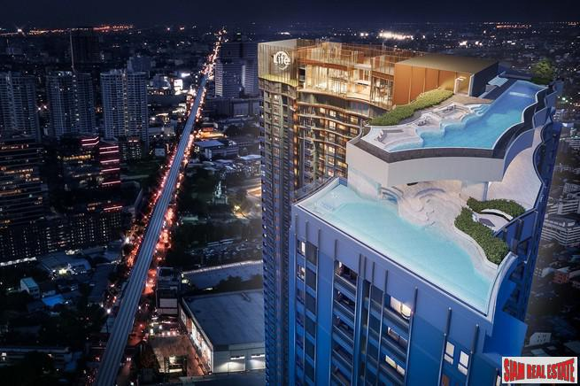 Exceptional New Condo Project with Unique Facilities Just Steps to MRT Phahon Yothin - Two Bedrooms