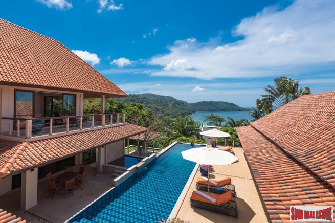 Breathtaking Sea Views of Kata Noi from this Five Bedroom Estate Home