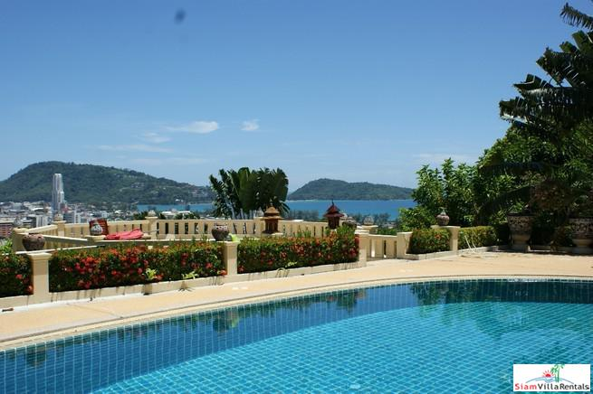 One Bedroom Sea View in a Hillside Resort & Residence for Rent in Patong Bay