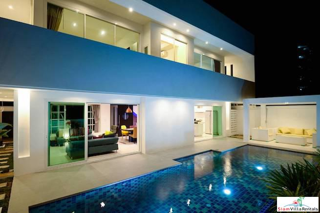 Modern Three Bedroom Two Storey Villa with Private Pool for Rent in Rawai