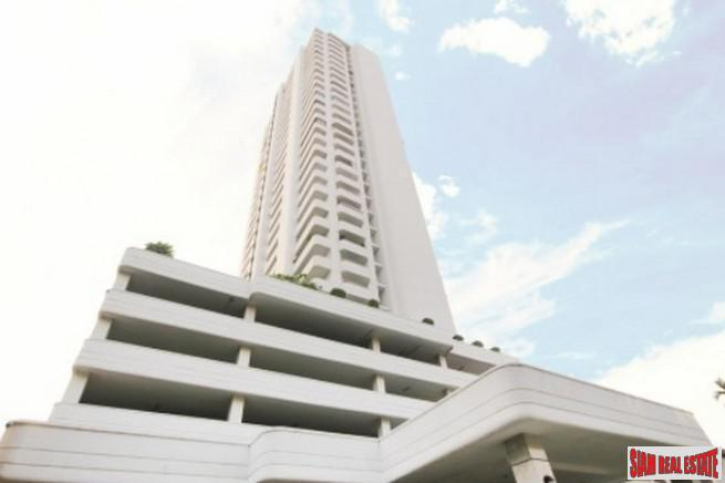 Extra Large Three Bedroom Condo on the 30th Floor with City Views in Ekkamai