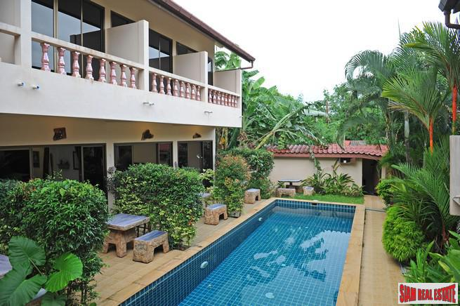 Well Established 32 Person Guest House for Sale in a Private Area of Rawai