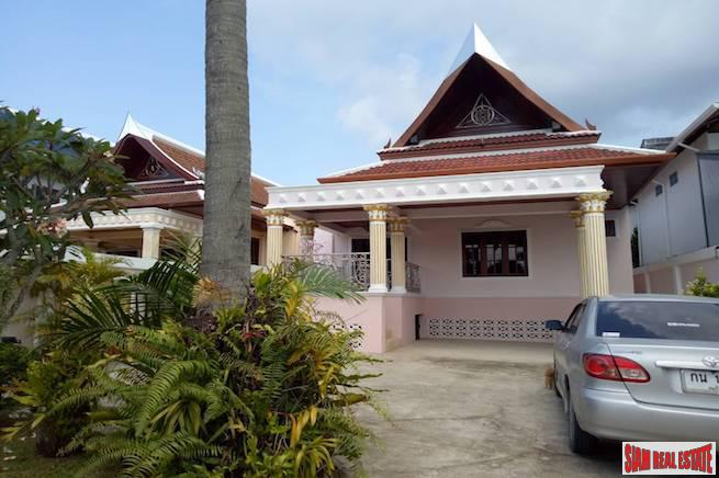 Large Two Bedroom Family Style House with Salt Water Pool in Rawai
