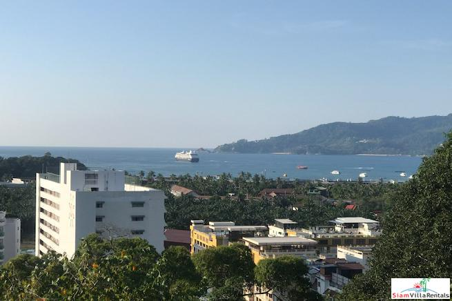 Breathtaking Patong Bay Sea Views from this Three Bedroom Condo for Rent