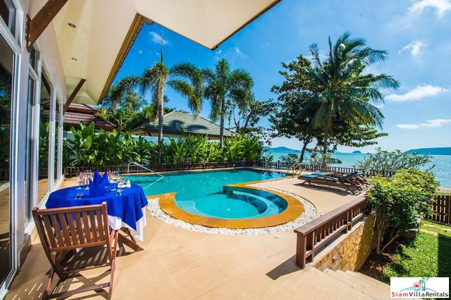 Five Bedroom Ocean Front Pool Villa  for Rent in Chalong Bay