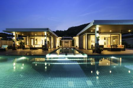 THE SPIRIT: 2 Fantastic Pool Villas with 5 Bedrooms & Sea Views & Very Large Infinity Edge Pool