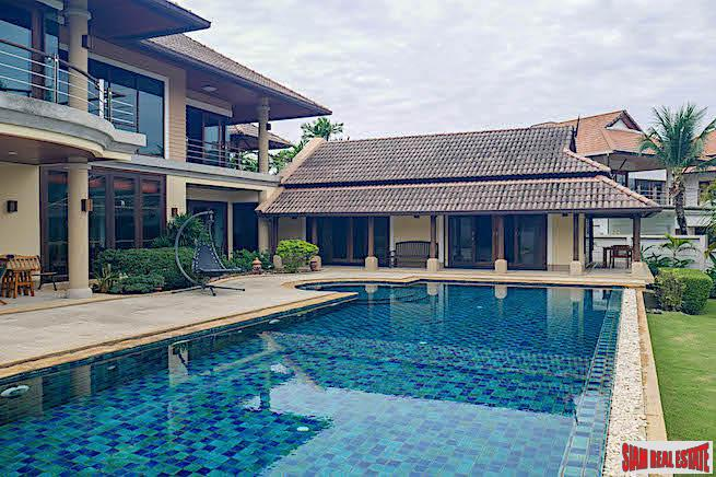 Large and prestigious sea view property in Rawai