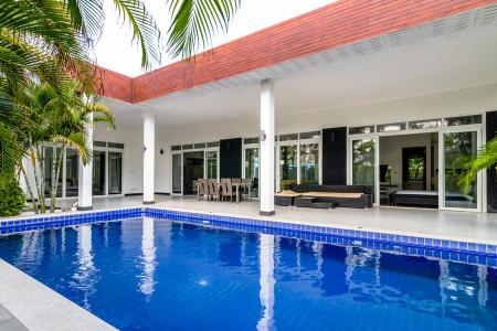 NATURE VALLEY 1: Great Quality 4 Bed Pool VillaBLACK LOTUS: Modern Style 4 Bed Pool Villa