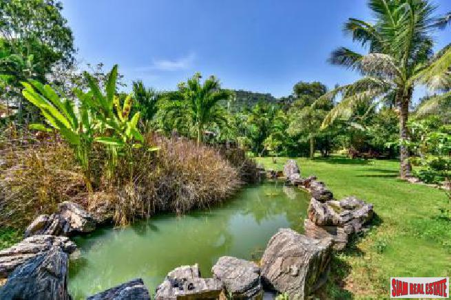 Exotic Land Plot with Feature Pond
