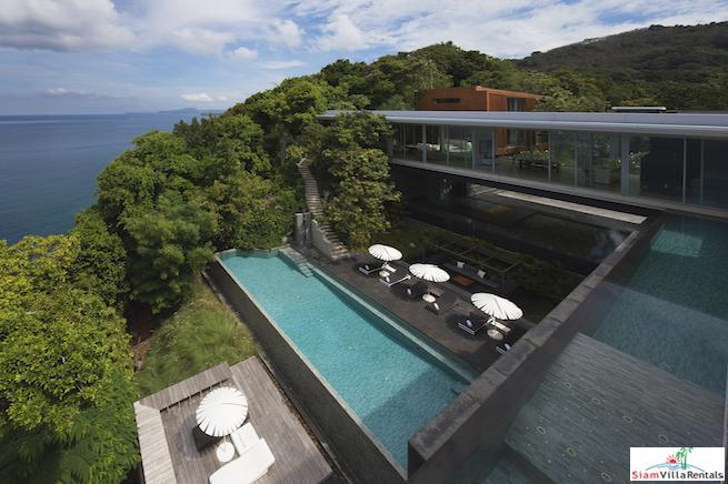 Exquisite Four Bedroom Pool Villa with Breathtaking Views of the Andaman Sea in Kamala, Kamala, Phuket