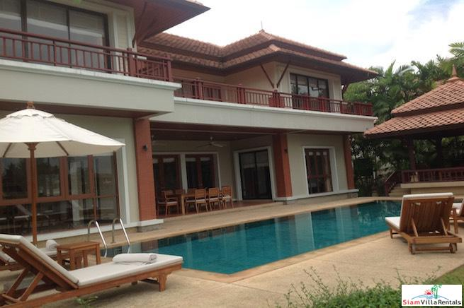 Private Four Bedroom Thai-Style Vacation Retreat in Layan, Phuket, Layan, Phuket