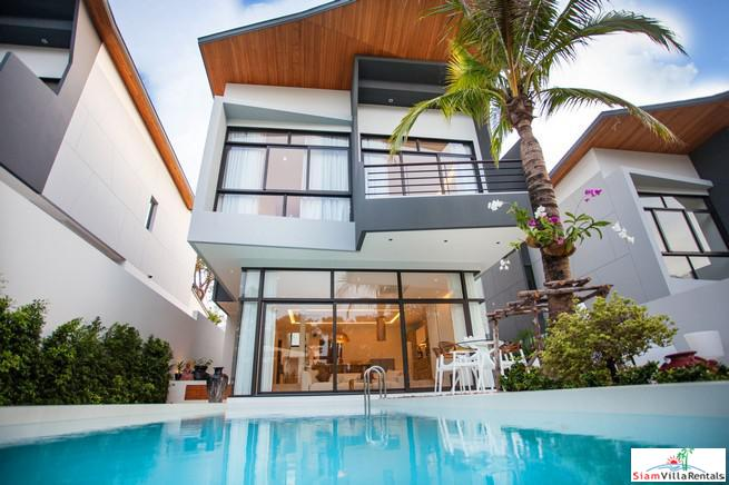 Modern and Elegant House for Rent in New Development at Rawai/Nai Harn
